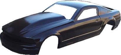 Ford Mustang Fiberglass Body Shell