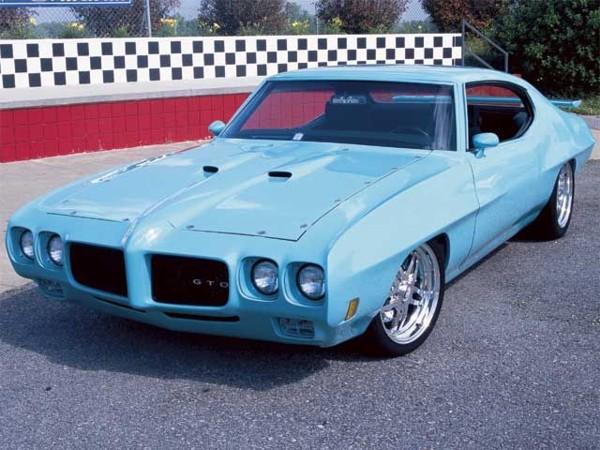 71-72 GTO Hood